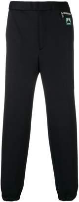Prada straight-leg track trousers