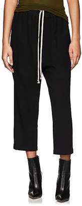 Rick Owens Women's Astaire Wool Drop-Rise Pants