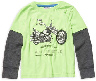 Mish Mish Mish-Mish Motorcycle Cotton Shirt - Light/Pastel Green, Size s-5