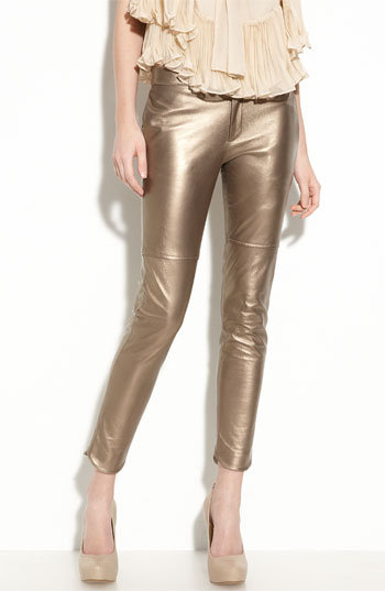 Foley + Corinna Leather Pants