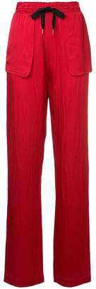Roland Mouret patch pocket trousers