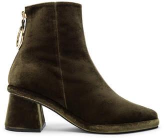Reike Nen Ring Slim Boots in Green   FWRD