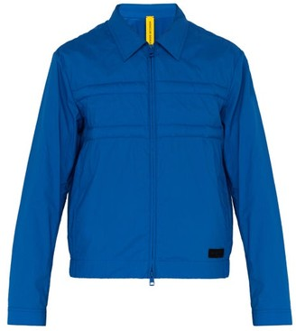 Craig Green 5 Moncler Doodle Logo Embossed Cotton Jacket - Mens - Blue