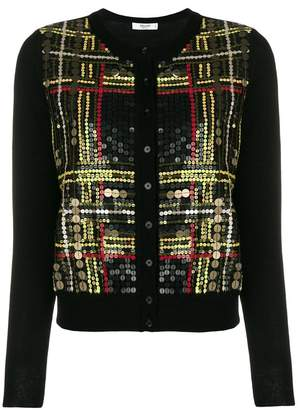 Blugirl sequin-embellished cardigan