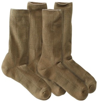 L.L. Bean L.L.Bean Men's Everyday Chino Socks, Midweight Two-Pack