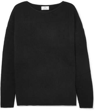 Allude Cashmere Sweater - Black