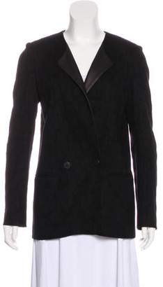 Rebecca Minkoff Scoop Neck Long Sleeve Jacket