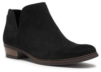 Crevo Leighton Suede Split Shaft Ankle Bootie