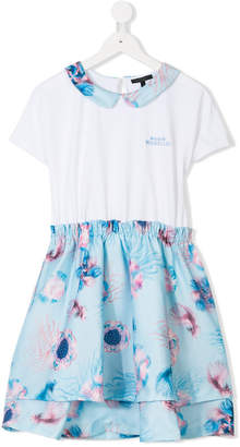Frankie Morello Kids TEEN contrast skirt dress