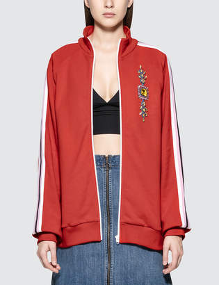 MSGM Embroidered Track Jacket