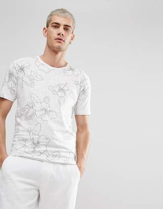 ONLY & SONS Flower T-Shirt