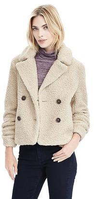 Short Teddy Coat $198 thestylecure.com