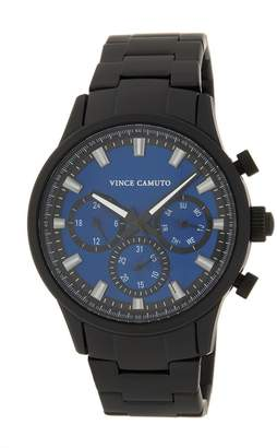 Vince Camuto Men's 3 Eye Bracelet Watch, 43mm