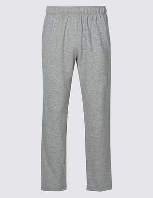 "Marks and Spencer Cotton Rich Lightweight Joggers with StayNEWâ""¢"