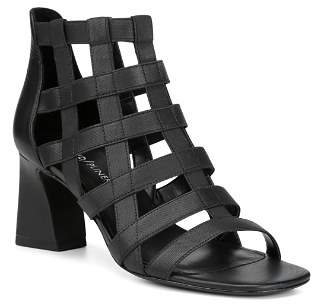 Donald J Pliner Women's Visto Strappy Cage Block Heel Sandals