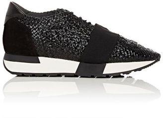 "Balenciaga Women's ""Race Runner"" Sneakers-BLACK $875 thestylecure.com"