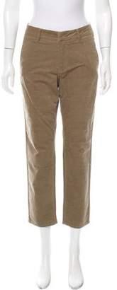 Vince Mid-Rise Corduroy Pants