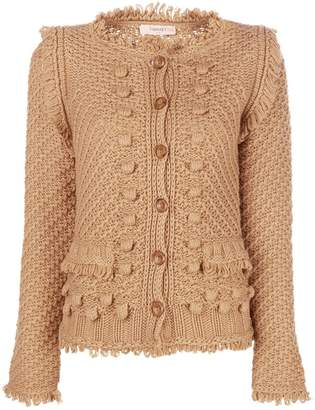 Twin-Set bouclé cardigan
