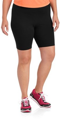 Danskin Women's Plus-Size Cotton Bike Short