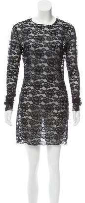 Celine Lace Mini Dress