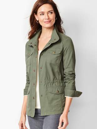 Talbots Casual Drawcord Jacket - Solid