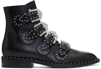 Givenchy Black Elegant Line Boots