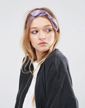 ASOS Choker Neck Tie & Headscarf