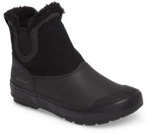 Women's Keen Elsa Chelsea Waterproof Faux Fur Lined Boot $109.95 thestylecure.com