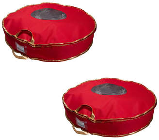 """Simplify 2 Pack 24"""" Holiday Wreath Bag"""