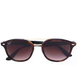 Ray-Ban gold accent sunglasses