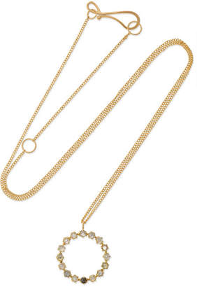Melissa Joy Manning 18-karat Gold Diamond Necklace - one size