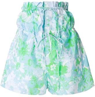 Ports 1961 floral print shorts