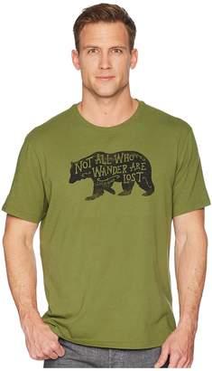 Life is Good Wander Bear Smooth Tee Men's T Shirt