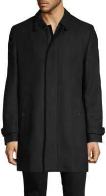 HUGO BOSS Classic Spread Collar Coat