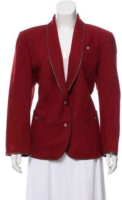 Thierry Mugler Tailored Shawl Collar Blazer