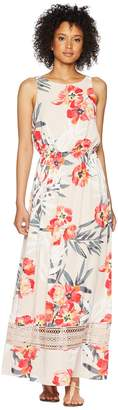 Adrianna Papell Tropical Breeze Maxi Dress Women's Dress