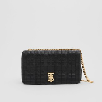 Burberry Medium Quilted Check Lambskin Lola Bag