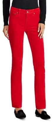 Ralph Lauren Straight Corduroy Jeans in Red