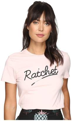 House of Holland Ratchet Shrunken T-Shirt Women's T Shirt