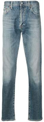 Citizens of Humanity stonewashed straight-leg jeans