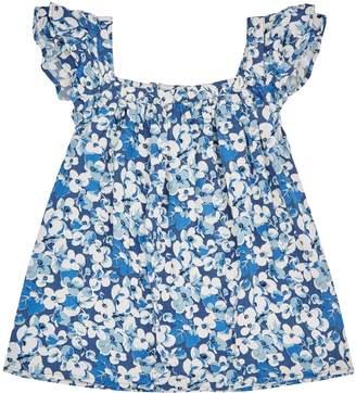 Polo Ralph Lauren Floral Cap Sleeve Top