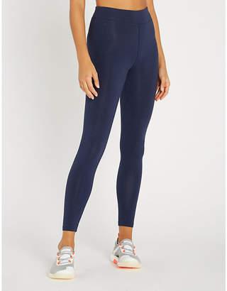 Tommy Hilfiger Logo-print stretch-cotton 7/8 leggings