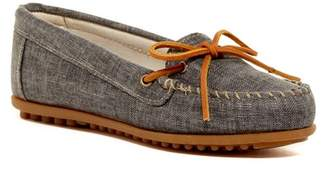 Minnetonka Canvas Moccasin (Women) $42.95 thestylecure.com