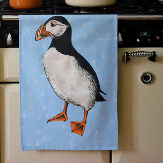Cherith Harrison Puffin Dish Towel