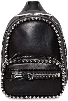Alexander Wang Attica Studs Soft Leather Mini Backpack
