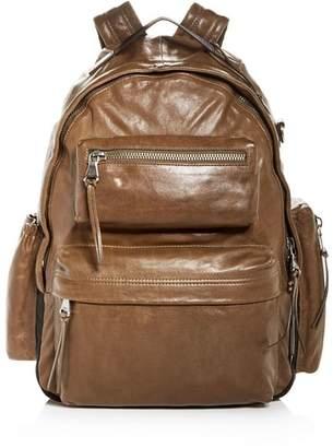 John Varvatos Gramercy Leather Backpack