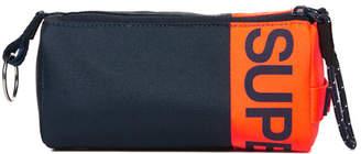 Superdry Kewer Two Zip Pencil Case