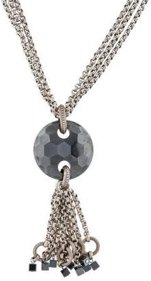 Stephen Dweck Hematine Pendant Necklace
