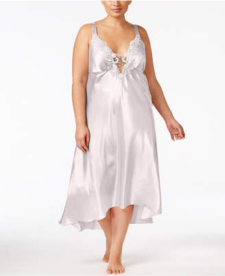 Flora Nikrooz Flora by Plus Size Satin Stella Nightgown