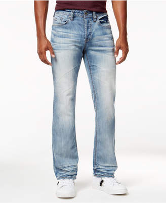 Buffalo David Bitton Men's King-x Slim-Bootcut Stretch Jeans